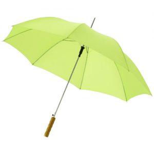 "23"" Automatparaply med trähandtag"