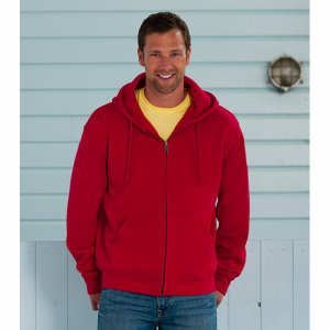 Russell Authentic Zipped Hood Herr