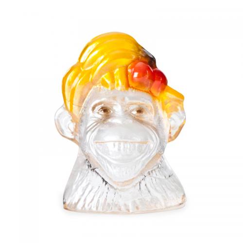 Målerås Glasbruk 34168 Monkey Business Smiley – Design Ludwig Löfgren – THreklam.se