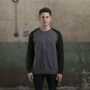 AWDis Baseball Sweat – Sweatshirt med tryck – Katalogbild 5 – THreklam.se