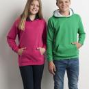 AWDis JH003J Kids Varsity Hoodie – Barn – Katalogbild 4 – THreklam.se