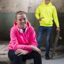 AWDis JH004J Kids Electric Hoodie - Varselhoodie - Barn